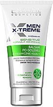 Parfüm, Parfüméria, kozmetikum Nyugtató borotválkozás utáni balzsam érzékeny bőrre - Eveline Cosmetics Men X-Treme After Shave Balm