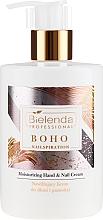 Parfüm, Parfüméria, kozmetikum Hidratáló kéz- és körömápoló krém - Bielenda Professional Nailspiration Boho Moisturising Hand & Nail Cream