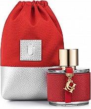 """Parfüm, Parfüméria, kozmetikum Parfüm táska """"Perfume Dress"""", piros - MakeUp"""