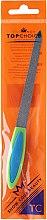Parfüm, Parfüméria, kozmetikum Körömreszelő zafír, 17 cm, zöld kékkel, 77173 - Top Choice