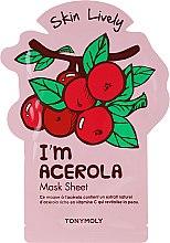 Parfüm, Parfüméria, kozmetikum Anyagmaszk arcra - Tony Moly I'm Acerola Skin Lively Sheet Mask