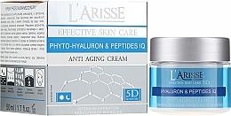 Parfüm, Parfüméria, kozmetikum Ránctalanító krém hialuronsavval és peptidekkel - Ava Laboratorium L'Arisse 5D Anti-Wrinkle Cream Phytohyaluron + Peptides