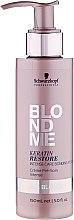Parfüm, Parfüméria, kozmetikum Keratinos regeneráló sampon - Schwarzkopf Professional BlondMe Keratin Restore Intense Care Bonding Potion