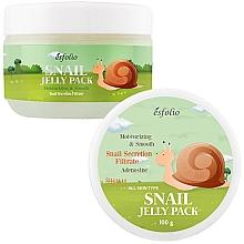 Parfüm, Parfüméria, kozmetikum Csiga lifting maszk memória formával - Esfolio Snail Shape Memory Jelly Pack