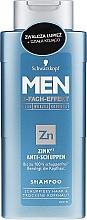 Parfüm, Parfüméria, kozmetikum Korpásodás elleni sampon - Schwarzkopf Men ZinkPT Anti-Schuppen Shampoo