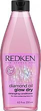 Parfüm, Parfüméria, kozmetikum Hajkondicionáló - Redken Diamond Oil Glow Dry Conditioner
