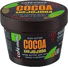 "Parfüm, Parfüméria, kozmetikum Testvaj-krém ""Kakaó és jojoba"" - Cafe Mimi Body Butter Cocoa And Jojoba"