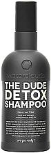 """Parfüm, Parfüméria, kozmetikum Sampon """"Detox"""" - Waterclouds The Dude Detox Shampoo"""