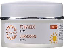 Parfüm, Parfüméria, kozmetikum Nappali napvédő krém - Yamuna Sunscreen Cream SPF 25