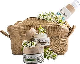 Parfüm, Parfüméria, kozmetikum Szett zsíros és kombinált bőrre - Shy Deer (emulsion/200ml + cr/50ml + e/cr/30ml)