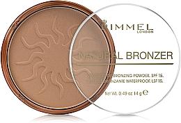 Parfüm, Parfüméria, kozmetikum Bronzosító arcpúder - Rimmel Natural Bronzer Powder
