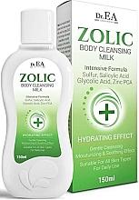 Parfüm, Parfüméria, kozmetikum Tisztítótej testre - Dr.EA Zolic Body Cleansing Milk