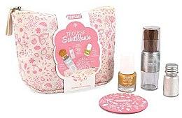 Parfüm, Parfüméria, kozmetikum Készlet - Namaki Glitter Kit (polish/7.5ml+nail/powder/7g+brush+mirror+acc)