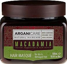Parfüm, Parfüméria, kozmetikum Ultra tápláló és helyreállító hajmaszk - Arganicare Silk Macadamia Hair Mask