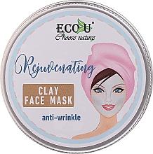 Parfüm, Parfüméria, kozmetikum Ránctalanító agyag arcmaszk - Eco U Anti-Wrinkle Clay Face Mask