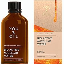 Parfüm, Parfüméria, kozmetikum Micellás víz - You & Oil Amber. Bio Active Micellar Water