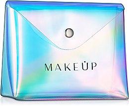 Parfüm, Parfüméria, kozmetikum Neszeszer, átlátszó «Holographic», 16x13x6cm - MakeUp