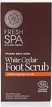 Parfüm, Parfüméria, kozmetikum Lábradír - Natura Siberica Fresh Spa Russkaja Bania Detox White Cedar Foot Scrub