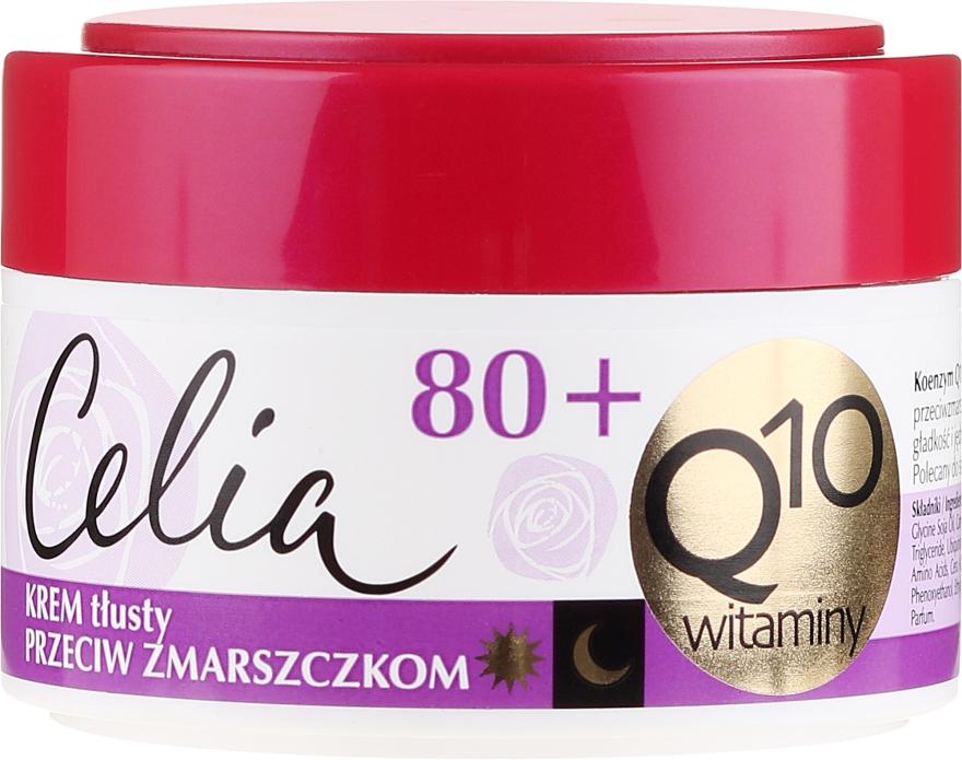 """Dúsított ránctalanító krém """"Vitamin"""" - Celia Q10 Face Cream 80+"""