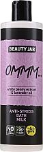 """Parfüm, Parfüméria, kozmetikum Tej-habfürdő fehér bazsarózsa kivonattal és levendula olajjal """"Stressz ellen"""" - Beauty Jar Anti-Stresse Bath Milk"""