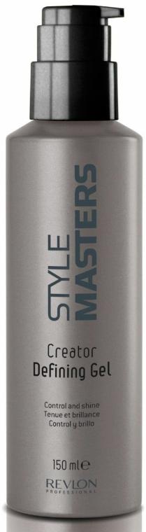 Hajfény szabályozó gél - Revlon Professional Style Masters Creator Defining Gel — fotó N2