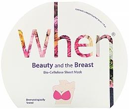 Parfüm, Parfüméria, kozmetikum Biocellulóz és feszesítő mellmaszk - When Beauty And The Breast Bio-Cellulose Mask