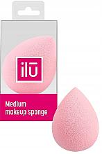 Parfüm, Parfüméria, kozmetikum Sminkszivacs, rózsaszín, közepes - Ilu Sponge Raindrop Medium Pink