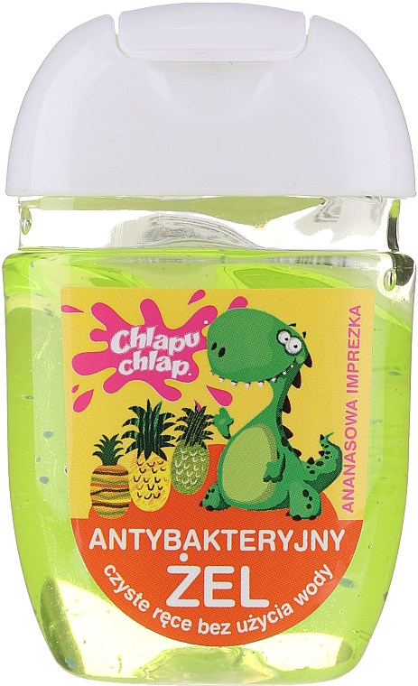 Antibakteriális gél kézre - Chlapu Chlap Antibacterial Hand Gel Pineapple Party