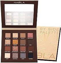 Parfüm, Parfüméria, kozmetikum Szemhéjfesték paletta - Nabla Side By Side Nude Palette