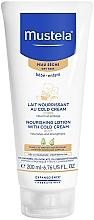 Parfüm, Parfüméria, kozmetikum Cold testápoló krém - Mustela Bebe Nourishing Lotion with Cold Cream