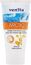 Parfüm, Parfüméria, kozmetikum Arcápoló krém - Venita Arctic Protective Face Cream Olive Oil
