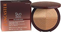 Parfüm, Parfüméria, kozmetikum Bronzosító púder - Lancaster 365 Sun Protecting Bronzing Face Powder SPF10 Adjustable Glow