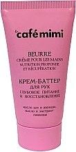 """Parfüm, Parfüméria, kozmetikum Kézkrém vaj """"Mély táplálás és regeneráció"""" - Cafe Mimi Hand Cream Oil"""