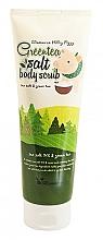 Parfüm, Parfüméria, kozmetikum Testradír zöld tea kivonatával - Elizavecca Body Care Milky Piggy Greentea Salt Body Scrub