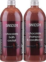 Parfüm, Parfüméria, kozmetikum Ajándékszett - BingoSpa Chocolate Set (bath/foam/500ml + shm/500ml)