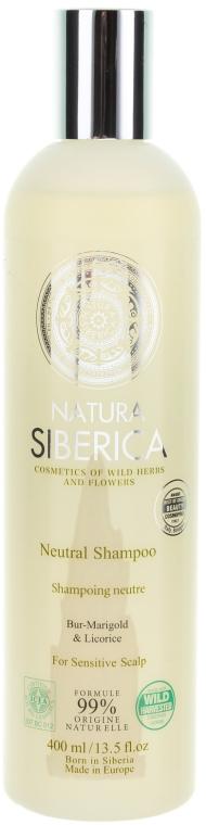 """Sampon érzékeny fejbőrre """"Semleges"""" - Natura Siberica — fotó N1"""
