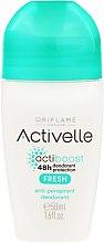 """Parfüm, Parfüméria, kozmetikum Görgő izzadásgátló dezodor """"24 óra"""" - Oriflame Activelle Actiboost Fresh"""