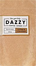 """Parfüm, Parfüméria, kozmetikum Kávés test- és arcradír """"Kávé és csokoládé"""" - Dazzy Coffee Face & Body Scrub Coffee & Chocolate"""