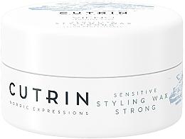 Parfüm, Parfüméria, kozmetikum Wax erős fixálás, illatmentes - Cutrin Vieno Sensitive Styling Wax Strong