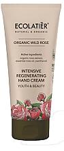 """Parfüm, Parfüméria, kozmetikum Kézkrém """"Fiatalság és szépség"""" - Ecolatier Organic Wild Rose Intensive Regenerating Hand Cream"""