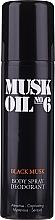 Parfüm, Parfüméria, kozmetikum Gosh Muck Oil No.6 Black Musk - Dezodorant w sprayu