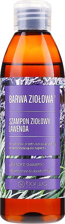 Sampon zsíros és korpás hajra - Barwa Herbal Lavender Shampoo