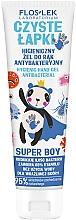 Parfüm, Parfüméria, kozmetikum Kézfertőtlenítő - Floslek Super Boy Hygienic Antibacterial Hand Gel
