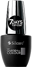 Parfüm, Parfüméria, kozmetikum Fedő lakk - Silcare The Garden of Colour Top Coat 7days