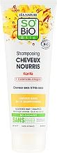 Parfüm, Parfüméria, kozmetikum Tápláló sampon - So'Bio Etic Nourishing Shampoo with Argan Ceramide & Shea Butter