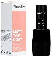 Parfüm, Parfüméria, kozmetikum Matt fedő lakk - Pierre Rene Matt Top Coat Matting Effect