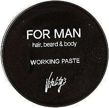 Parfüm, Parfüméria, kozmetikum Matt hajpaszta - Vitality's For Man Working Paste