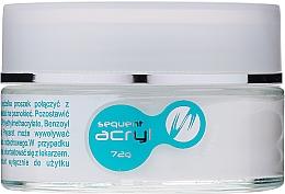 Parfüm, Parfüméria, kozmetikum Akril púder, 72 g - Silcare Sequent Acryl Pro