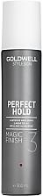 Parfüm, Parfüméria, kozmetikum Briliáns hajspray - Goldwell Style Sign Perfect Hold Magic Finish Lustrous Hairspray