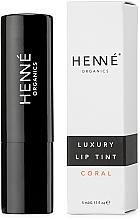 Parfüm, Parfüméria, kozmetikum Ajak tint - Henne Organics Luxury Lip Tint